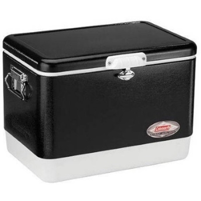 Picture of Coleman® 54-Quart Steel Chest Cooler - Black