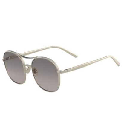 Picture of Chloe Nola Sunglasses - Gold Frame & Brown/Peach Lens