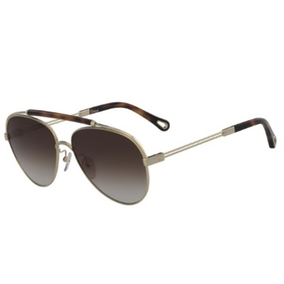 Picture of Chloe Jackie Sunglasses - Gold/Havana