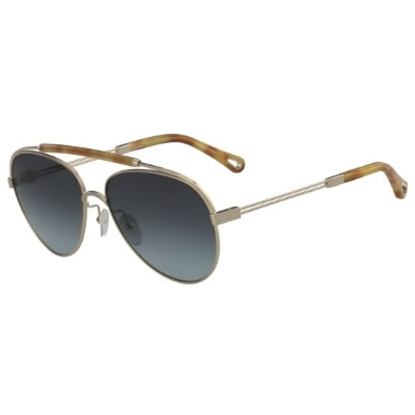 Picture of Chloe Jackie Sunglasses - Gold/Blonde Havana