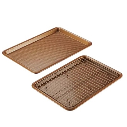 Picture of Ayesha Curry 3-Piece Bakeware Set - Copper