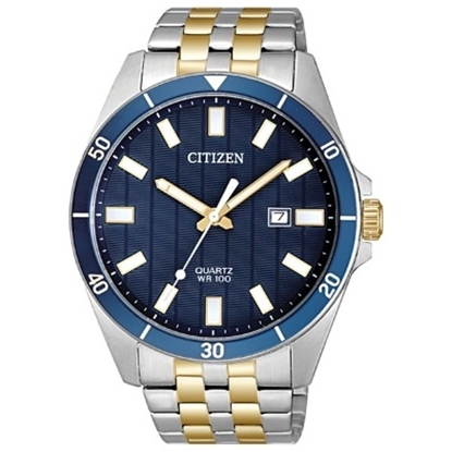 Picture of Citizen Men's Quartz Two-Tone Stainless Steel Blue Dial Watch