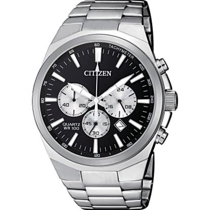 Picture of Citizen Men's Quartz Stainless Steel Black Dial Watch