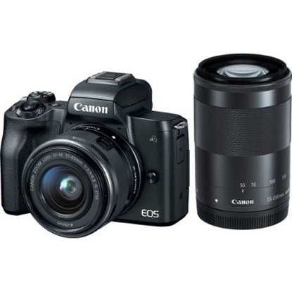 Picture of Canon EOS M50 Mirrorless DSLR with Two Lens