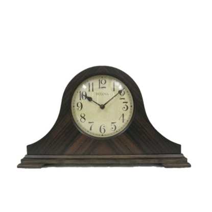 Picture of Bulova Wood Tabletop Clock
