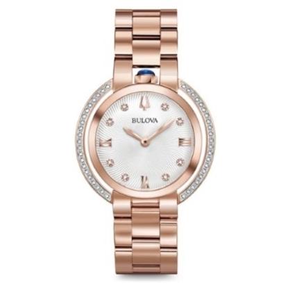 Picture of Bulova Women's Rubaiyat Rose Gold-Tone Watch