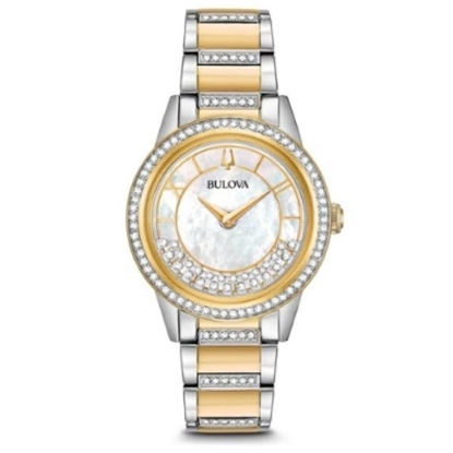 Picture of Bulova Women's Crystal TurnStyle Watch