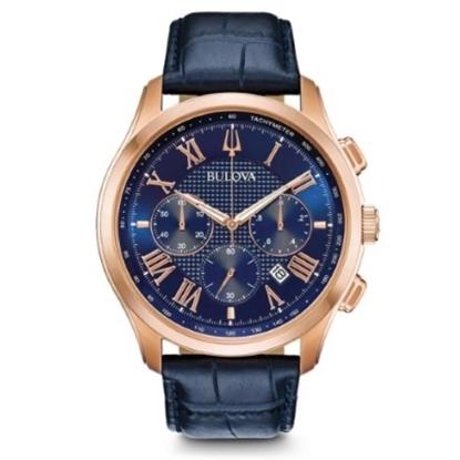 Picture of Bulova Men's Classic New Wilton Rose Gold-Tone Watch