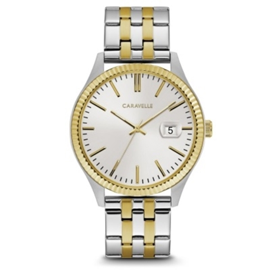 Picture of Bulova Caravelle NY Men's Two-Tone Stainless Steel Watch