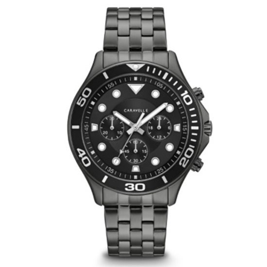 Picture of Bulova Caravelle NY Men's Black Chronograph Watch