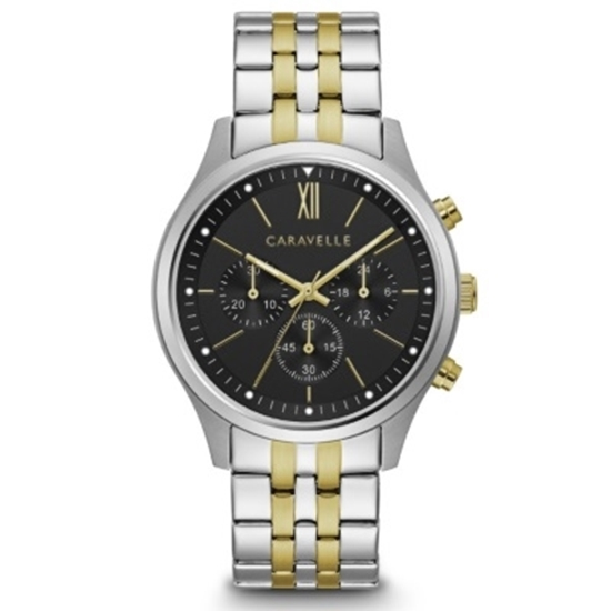 Picture of Bulova Caravelle NY Men's Two-Tone Chronograph Watch