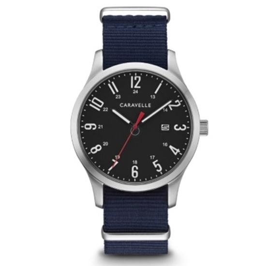 Picture of Bulova Caravelle NY Men's NATO Strap Watch