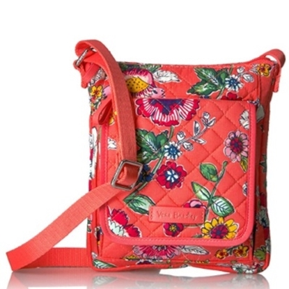 Picture of Vera Bradley Iconic RFID Mini Hipster - Coral Floral