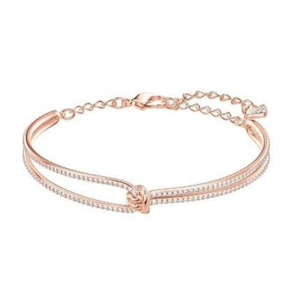 Picture of Swarovski Lifelong Bangle - Rose Gold