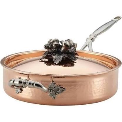 Picture of Ruffoni Opus Cupra 3-Quart Cov Sauté Pan - Copper