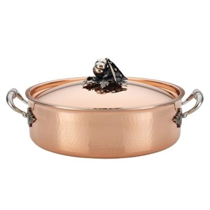 Picture of Ruffoni Opus Cupra 7.5-Quart Covered Braiser - Copper
