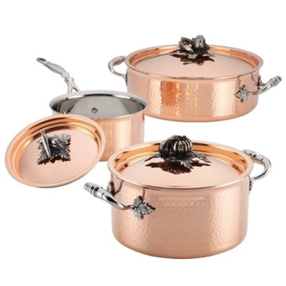 Picture of Ruffoni Opus Cupra 6-Piece Cookware Set - Copper