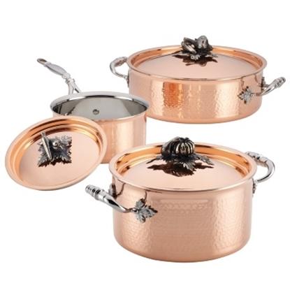 Picture of Ruffoni Opus Cupra 6-Piece Cookware Set - Copper