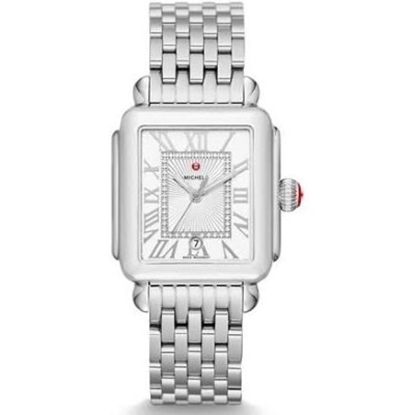 Picture of Michele Deco Madison Watch with Diamond Dial