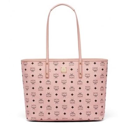 Picture of MCM Anya Top Zip Medium Shopper - Soft Pink
