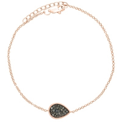Picture of Lali 14K Rose Gold Diamond Bracelet
