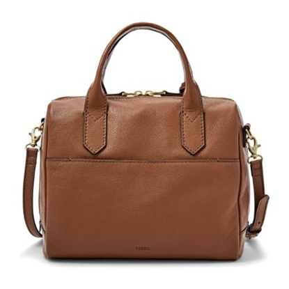 Picture of Fossil Ladies' Fiona Satchel - Brown