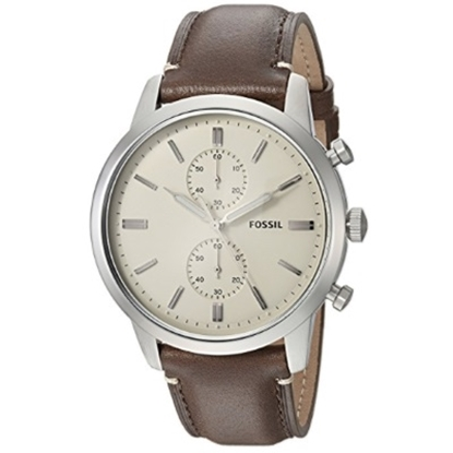 Picture of Fossil Townsman Chronograph Brown Leather Watch