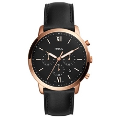 Picture of Fossil Neutra Chronograph Black Leather Watch
