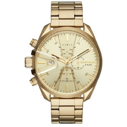 Picture of Diesel Men's MS9 Chronograph Gold-Tone Stainless Steel Watch