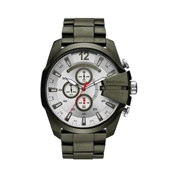 Picture of Diesel Men's Mega Chief Chronograph Green Ion-Plated Watch