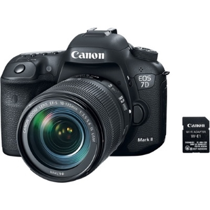 Picture of Canon EOS 7D Mark II DSLR w/ 18-135mm Lens and Wi-Fi Adapter