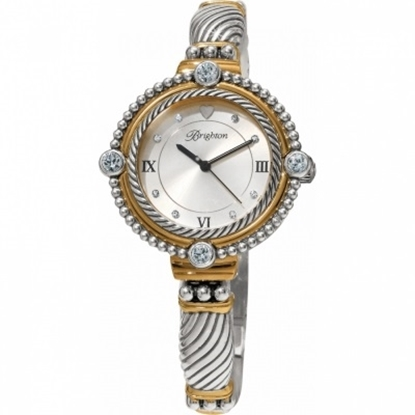 Picture of Brighton Costa Mesa Watch - Silver/Gold