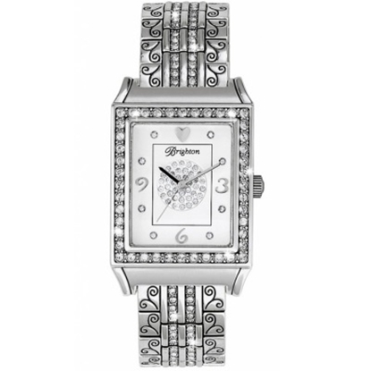 Picture of Brighton Diamond Bar Watch - Silver