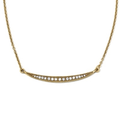 Picture of Brighton Contempo Ice Reversible Necklace - Gold