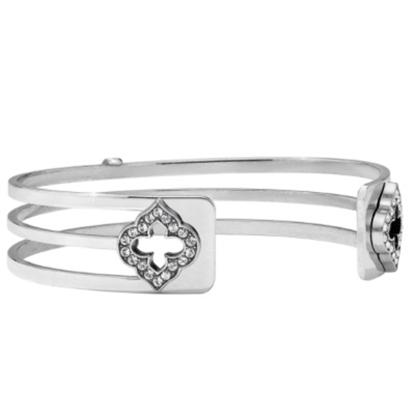 Picture of Brighton Christo Toledo Falls Slim Cuff Bracelet - Silver