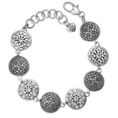 Picture of Brighton Ferrara Medallion Link Bracelet