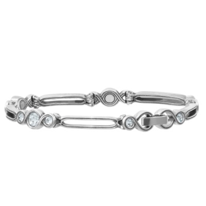 Picture of Brighton Infinity Sparkle Bracelet - Silver