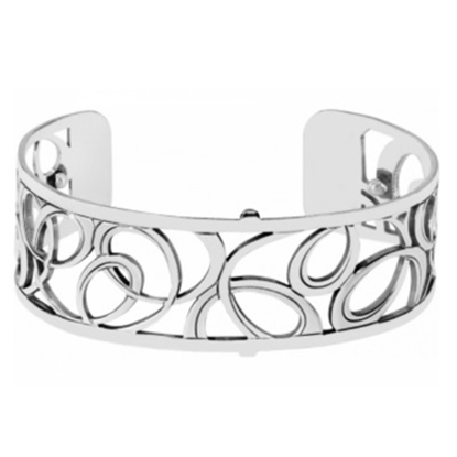 Picture of Brighton Christo Vienna Narrow Cuff Bracelet - Silver
