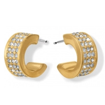 Picture of Brighton Meridian Zenith Hoop Earrings - Gold