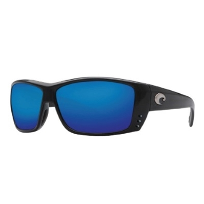 Picture of Costa del Mar Cat Cay Sunglasses - Blackout/Blue Mirror
