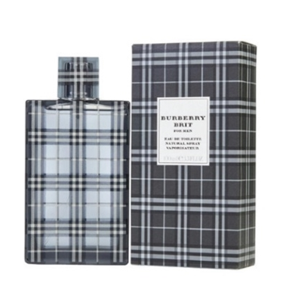 Picture of Burberry Brit Men's Eau de Toilette - 3.3 oz.