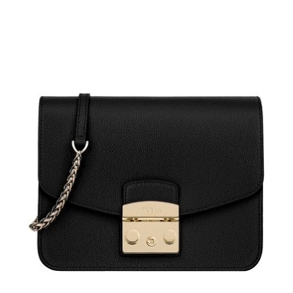Picture of Furla Metropolis Small Crossbody - Onyx
