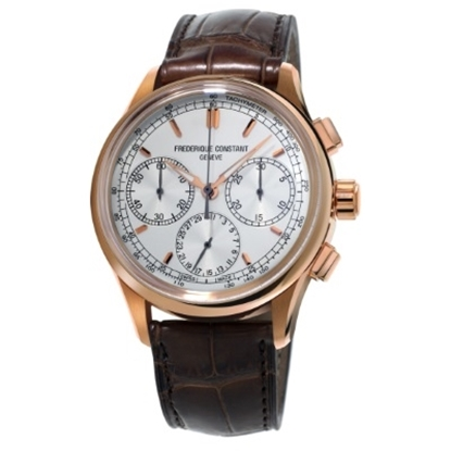 Picture of Frederique Constant Flyback Chrono Manufacture with White Dial
