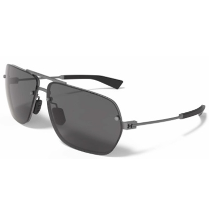 Picture of Under Armour Hi-Roll Sunglasses - Satin Gunmetal/Gray