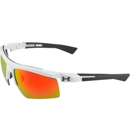 Picture of Under Armour Core 2.0 Sunglasses - Shiny White/Orange