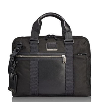 Picture of Tumi Alpha Bravo Charleston Compact Brief - Black