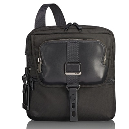 Picture of Tumi Alpha Bravo Arnold Zip Flap - Black