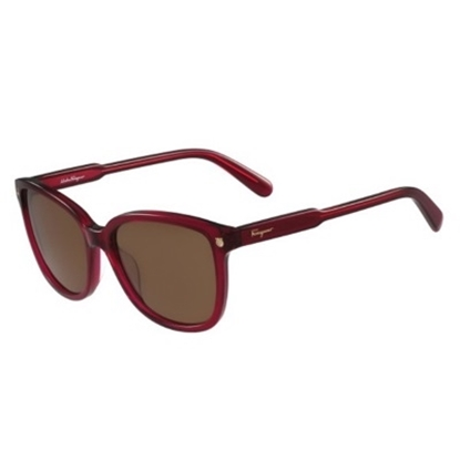 Picture of Salvatore Ferragamo Butterfly Shape Sunglasses - Red Cyclamen