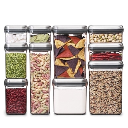 Picture of OXO SteeL™ 10-Piece POP Container Set