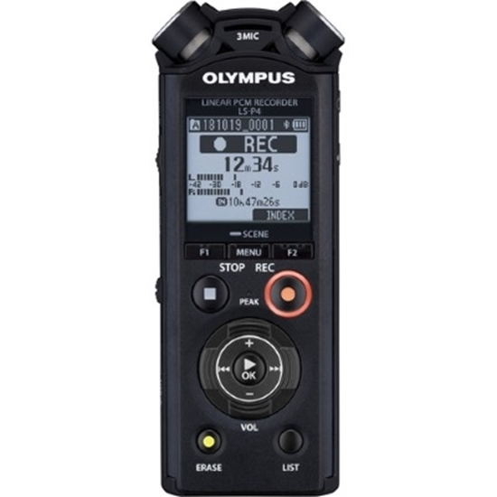 Picture of Olympus 8GB Audio Recorder with Bluetooth® Playback